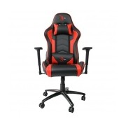 Digital Design Silla Gamer Legend Red, Negro/Rojo