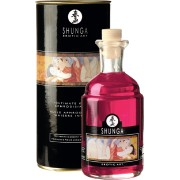 Shunga Erotic Art Aphrodisiac Oil - Strawberry wine - olio da massaggio edibile