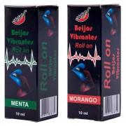 Gel Do Beijo Vibrante Em Roll-On 10ml Chillies