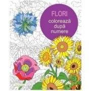 Flori Coloreaza dupa numere