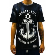 CAMISETA BRUTAL KILL - ANCHOR TYE DYE