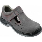 Pantofi de lucru din piele Yato Segura YT-80468 marimea 44 cat. S1 gri