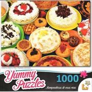 Yummy Puzzles Creamy Dreamy Pies 1000 Piece Puzzle