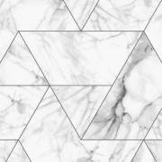 KEK Amsterdam Marble Mosaic behang Wit