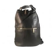 Cipzáros hátizsák fekete Abrielle