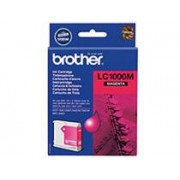 Brother Bläckpatron Brother Lc1000m 400 Sidor Magenta