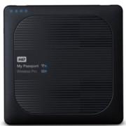 """2TB WD MyPassport Pro (черен), външен, 2.5"""" (6.35 cm), USB 3.0, Wireless"""
