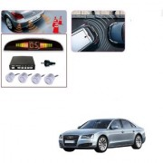 Auto Addict Car Silver Reverse Parking Sensor With LED Display For Audi A8
