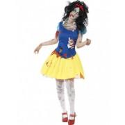 Disfraz zombi princesa de cuento de hadas mujer Halloween M
