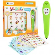 Aisikasi Intelligent Learning Pen Smart Early Childhood Cognitive Learning Vocal Intelligent Learning Book Educational Early Age Basic Skills Development