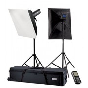 Kit blitz de studio Falcon Eyes TFK-21200L cu LCD Display