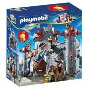 Playmobil Super 4 Take Along Black Baron`S Castle Building Kit