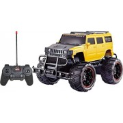 Zombi Mad Racing Cross- Country Remote Control Yellow 1:20 Car