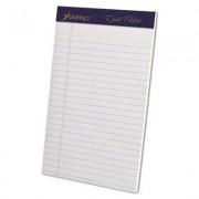 Gold Fibre Writing Pads, Jr. Legal Rule, 5 X 8, White, 50 Sheets, 4/pack
