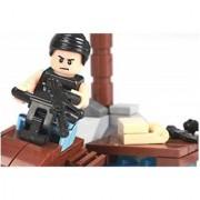 Emob 88 Pcs Player Battleground Mission Theme 3D Bricks Block Set Building Toy for Kids (Multicolor)