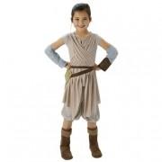 Rubie'S Star WarsDisfarce Deluxe Rey 5-6 anos
