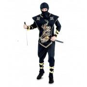 Disfraz Ninja Dorado Adulto - EuroDisfraces