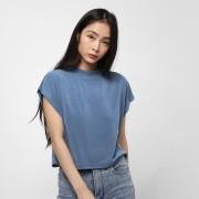 Urban Classics Ladies Modal Short Tee - Blauw - Size: Extra Small; female
