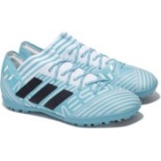 Adidas NEMEZIZ MESSI TANGO 17.3 TF Football Shoes For Men(Blue, White)
