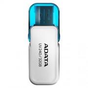 USB Kľúč 32GB ADATA UV240 USB white (vhodné pre potlač)