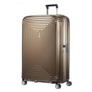 Samsonite Neopulse 81cm Extra Large 4 Wheel Spinner Suitcase - Metallic Sand