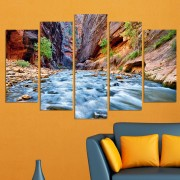 Декоративен панел за стена с приказен планински пейзаж Vivid Home