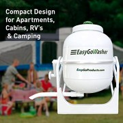 EasyGo Washer - Manual Clothes Washer - Mobile Hand Powered - Portable Washing Machine