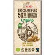 Ciocolata Bio Neagra cu Ghimbir Pronat 100gr