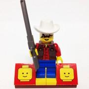 MinifigurePacks: Lego Western - Cowboys Bundle (1) COWBOY (1) FIGURE DISPLAY BASE (1) FIGURE ACCESSORY