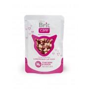 Hrana umeda pentru pisici Brit Care Cat cu Pui si Rata, 80 g