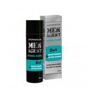 Dermacol Men Agent Hydra Care 2in1 balsam după bărbierit 50 ml pentru bărbați