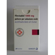 Sanofi Spa Flectadol 1.000 Mg Polvere Per Soluzione Orale 20 Bustine