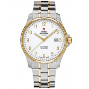 Ceas barbatesc Swiss Military SM30137.04 Saphir, 5 ATM, 39 mm