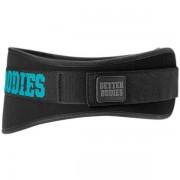 Better Bodies Womens Gym Belt L Black/aqua