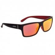 Alpina Kacey Red Mirror S3 Occhiali da sole rosso/nero/arancione;grigio/arancione