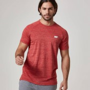 Myprotein Performance Short Sleeve Top - XS - Red