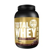Total Whey proteína sabor cappuccino 2kg - Gold Nutrition