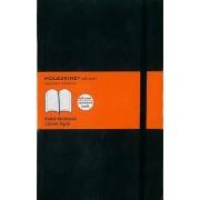 Moleskine Soft Large Ruled Notebook Noir
