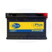 Akumulator za automobil Comline 75 Ah, 12V D+