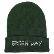 Green Day Label Flip Knitted Ski Hat