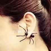 Heren Dames Oorknopjes Punk-stijl PERSGepersonaliseerd Legering Dierenvorm Spinnen Sieraden Voor Dagelijks Causaal