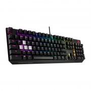 Tastatura Gaming Mecanica Asus ROG Strix Scope Cherry MX Red RGB Black