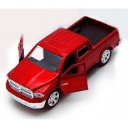 Dodge Ram 1500 Pickup Truck, Red Jada Toys Just Trucks 97015 1/32 Scale Diecast Model Toy Car
