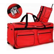 Cross100L pojízdná cestovní taška DEU895 červená