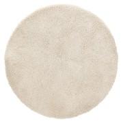 Beige rond design tapijt 'TISSO' -