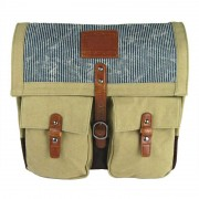 Licence 71195 Jumper II Canvas Messenger Bag Beige LBF10861-BE