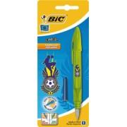 Stilou Bic Easy Clic Football, 1 bucata/blister