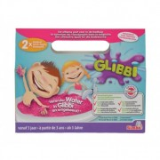 Glibbi Slime Pudra pentru baie, 2 pack, roz