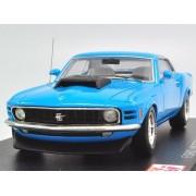 Post Hobby Spark 1/43 Ford Mustang Boss 429 1970 Blue