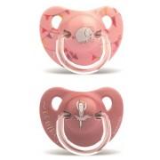 Exclusivas Rimar S.L. Suavinex Succhietto Anatomico S +18 Mesi Elefante Rosa 2 Pezzi